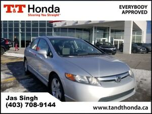 2006 Honda Civic LX* Cruise Control, CD/MP3, A/C*