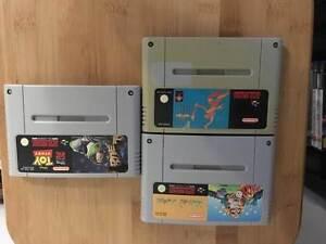 Super Nintendo ( SNES) Games $25 each Oxley Brisbane South West Preview