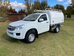 2016 Isuzu D-Max SX Single cab chassis ,(4x4)...3.0 T/D Auto Holbrook Greater Hume Area Preview