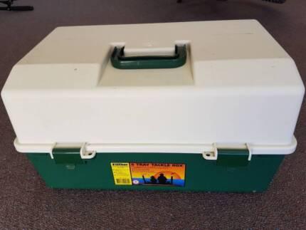Fishing Tackle Box - 6 Cantilever Tray -100% Australian Made