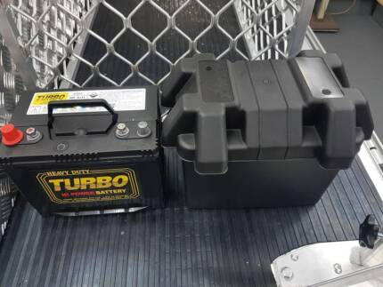Battery 80AH AGM & Battery Box  , Brand New Geebung Brisbane North East Preview