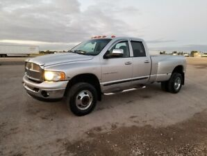 Dodge 3500 4x4 cumins diesel safetied