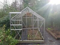 Greenhouse Frame (And some Glass Panels missing).