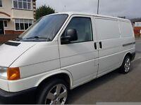2002 (Reg 52) Volkswagen Transporter T4 2.5 TDI 88 BHP, SWB– NO VAT to pay!