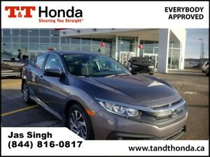 2016 Honda Civic EX *Heated Seats, Remote Starter, Low KM's*