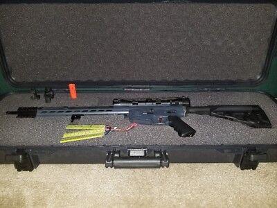 Custom modified KRYTAC MK2 SPR Carbine