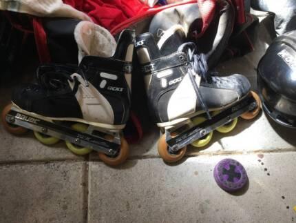 Inline Hockey gear