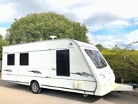 Elddis Odyssey 5 Berth Caravan With Optional Fixed Bed & Awning