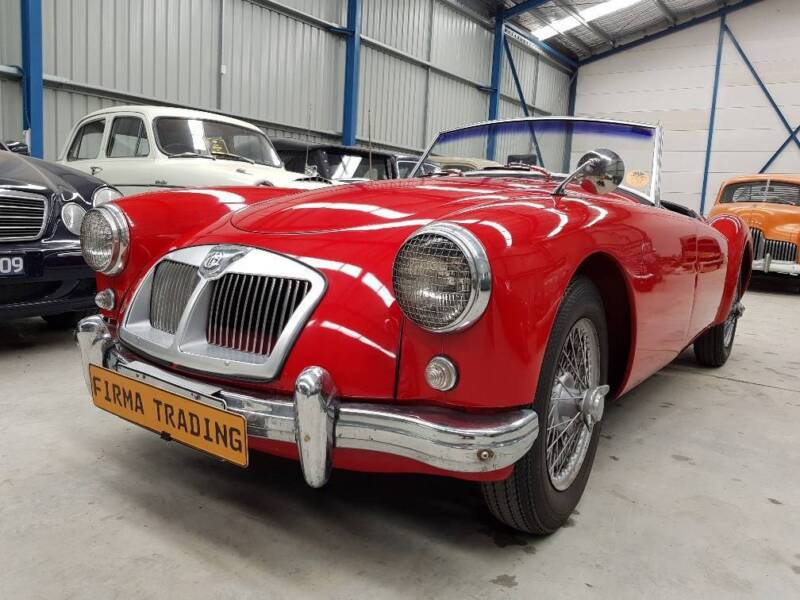 MG MGA 1500 Matching Numbers car by Firma Trading Classic Cars ...