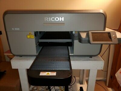 Lightly Used Ricoh Ri3000 Direct To Garment Printer By Anajet