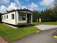 Cheap Static Caravan 2014Willerby Lyndhurst 38 x 12 2bed on stunning 4* Park in Lockerbie, Scotland
