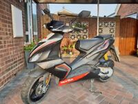 Aprilia SR 50 R Moped 50cc 2413 miles Registered June 2017