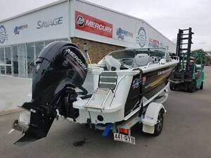 2014 Quintrex 530 Cruiseabout 150hp EFI 4 Stroke Mercury 60HOURS Pialba Fraser Coast Preview