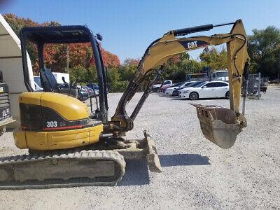 2006 Caterpillar 303cr Hydraulic Mini Excavator W Only 1700 Hours