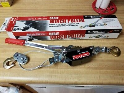Haul Master 1200 Lb. Cable Winch Puller 30131