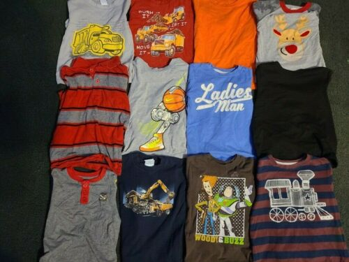 Huge 31 Piece Clothing Lot Boys Size 4T Clothes Fall Winter, Disney