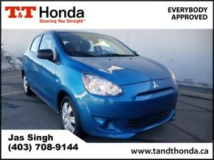 2015 Mitsubishi Mirage ES* No Accidents, Low KM's, Locally Owned
