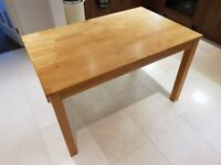 Solid Oak Kitchen Dining Table