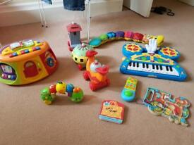 Baby and pre school toys