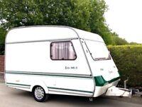 Compass Echo 2 Berth Caravan With Awning - Lightweight Caravan