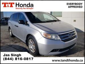 2011 Honda Odyssey LX* One Owner, Local Car, Magic Seat*