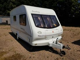 Caravan for Sale. 2000/1 Elddis Broadway 470/2 Berth Caravan