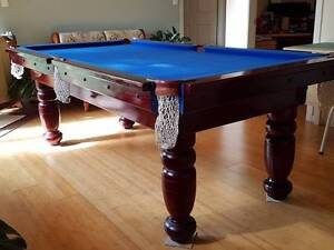 Pool Table 8 x 4 slate base Yamba Clarence Valley Preview