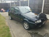 FORD FIESTA ZETEC 1999 BLACK