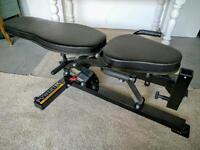 Powertec Weightlifting Adjustable Utility Bench