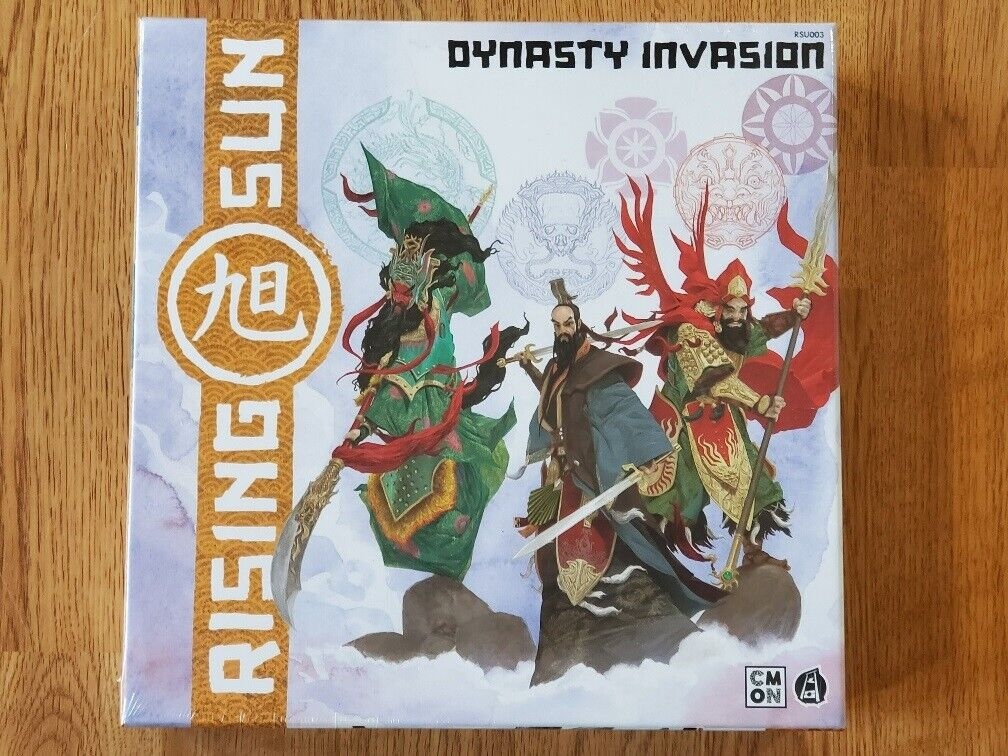Rising Sun: Dynasty Invasion Expansion CMON Board Game Brand New Sealed