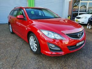 2010 Mazda 6 Touring GH MY10 2.5L 4 Cylinder Wagon - AUTOMATIC Lambton Newcastle Area Preview