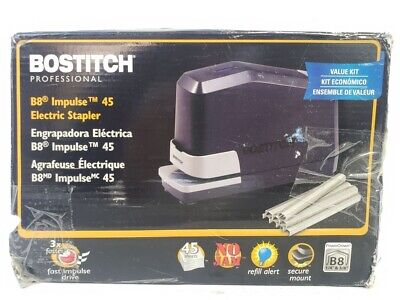 Bostitch B8e-value Impulse 45 Sheets Capacity Electric Stapler