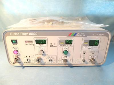 Acmi Turboflow 8000 Abdominal Insufflator 40 Liter