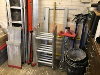Plastering Tools and Equipment – Full Set Up