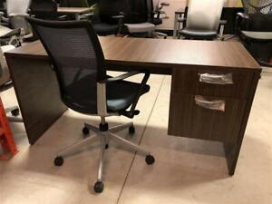 Single Pedestal Straight Desk - 24 x 60 - Manufacture Special