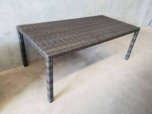 Sienna Dining Table in South Pacific Coco Synthetic Viro Rattan Loganholme Logan Area Preview