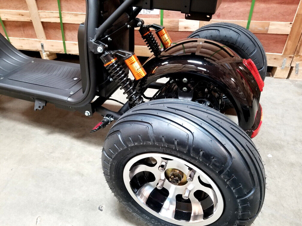 New Electric 3 Wheel Trike Scooter Golf Cart Harley Chopper Mobility Motorcycle - $2,395.00
