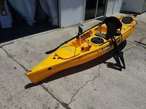 Revolution 11 Hobie MirageDrive kayak Papaya Maclean Clarence Valley Preview