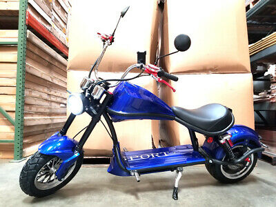 2000W Fat Tire Harley Chopper Style Electric Bike Scooter Motorcycle   60V 20AH  Harley Style Scooter