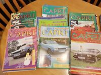 Ford Capri Magazines 1997 - 2011 large collection
