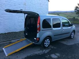 Renault Kangoo Wheelchair Mobility Scooter Accessible Car WAV 2011