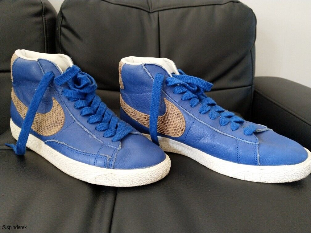 sports shoes 254df e962a Nike Blazer Mid Snake Pack Like Supreme Stussy (371761-471) | in Sheffield,  South Yorkshire | Gumtree
