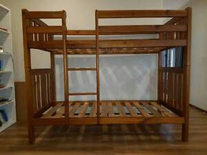 BUNK BED TIMBER ( SOLD-PENDING PICK UP) Kingsley Joondalup Area Preview