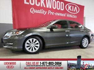 2013 Honda Accord Sedan EX-L - LEATHER, SUNROOF, REVERSE CAMERA