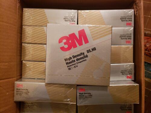 """3M High Density DS, HD Floppy Disks/Diskettes 5.25"""" (5 1/4"""") ~ 100 Disks Total"""