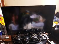 """LG TV package for sale with 47"""" LCD TV"""