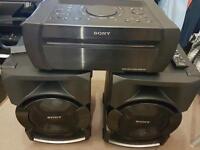 Sony Shake X1D 1200 Watts High Power Hi-Fi