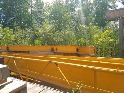 10 Ton Capacity Acco Overhead Bridge Crane For Sale Span 56 5