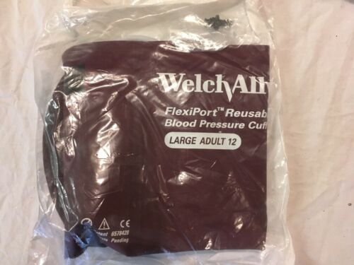 WelchAllyn Reuse-12L Large Adult Long Reusable Blood Pressure Cuff  REUSE-12-2BV