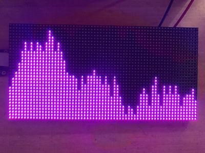As3264 Full Color Music Spectrum Audio Level Display Analyzer Vu Meter Amplifier